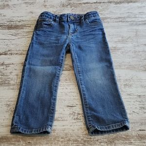 Girls Baby Gap jeans size 2 years.